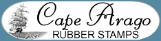 Cape Arago Rubber Stamps - Mounted and Unmounted Rubber Stamps and Supplies