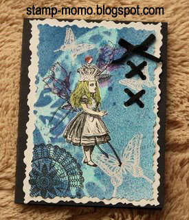 Alice card by Momo - Oct 2008